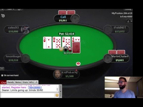 Daniel Negreanu Play PokerStars Game - NJ High Roller 1 // 2016