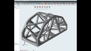 Generative Design Bridge Inspire with PolyNURBS