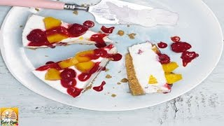 Peach Melba Cheesecake