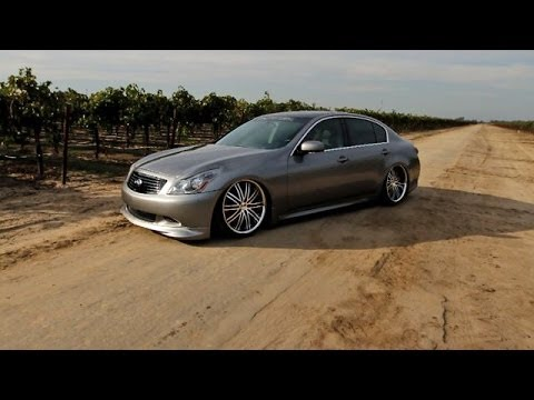 Infiniti G37 Sedan Hottest Ones On 20 Inch Wheels Doovi