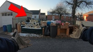 Trash Picking in RICH Neighborhood FOUND THIS - Ep. 215