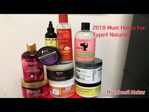 A Type4 Naturals Must Have Products in 2018!!