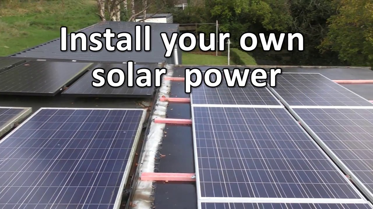 Install Your Own Solar You