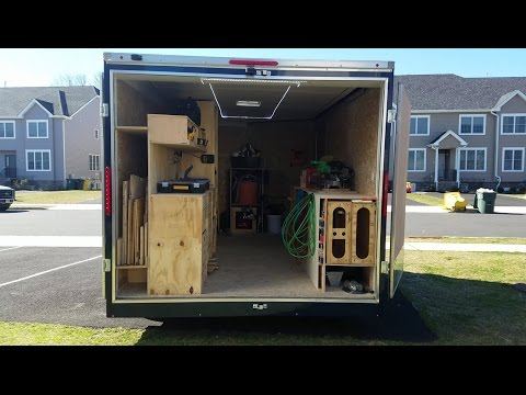 My tool trailer setup | Inspired by Ron Paulk's Awesome Rolling Toolbox