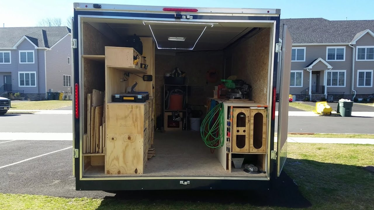 My Tool Trailer Setup Inspired By Ron Paulk S Awesome