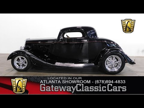 1934 Ford Coupe 3 Window, Gateway Classic Cars - Atlanta#814