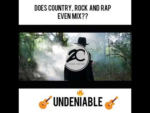 undeniable country rock and rap mix