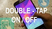 Enable / Disable Double Tap to Awake on Android Device - YouTube