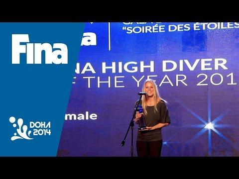 Rachelle Simpson 2014 FINA Female High Diver of the Year