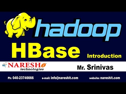 Apache HBase Introduction | Hadoop Tutorials