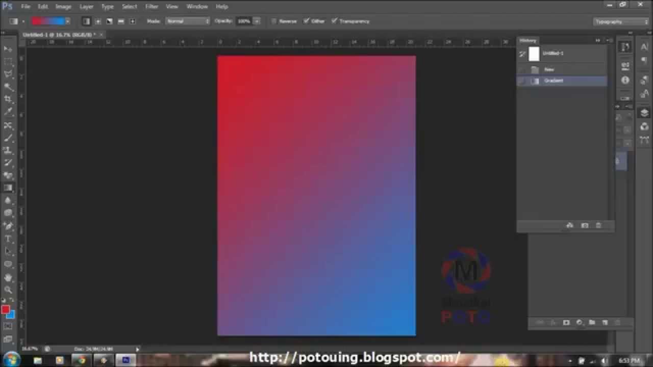 Tutorial Photoshop Cs6 Cara Memberi Warna Background Youtube