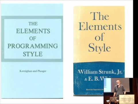Elements of Programming Style - Brian Kernighan