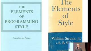 Elements of Programming Style - Brian Kernighan