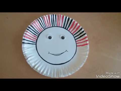 Diy paper plate crafts || Disposable plate crafts || Kids crafts