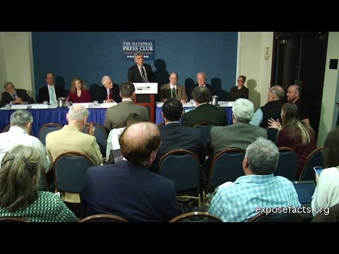 The Obama Administration's War on Whistleblowers--7 Whistleblowers speak at News Conference 04-27-15