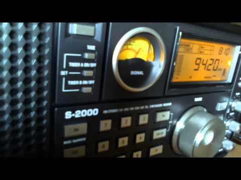 Voice of Greece Η Φωνή της Ελλάδας 05 UTC on 9420 Khz 25 September 2015