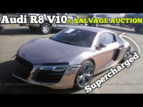 Should I BUY Tanner Braungardt's WRECKED Audi R8 V10???
