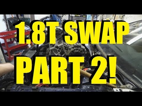 How to 1.8t swap part 2