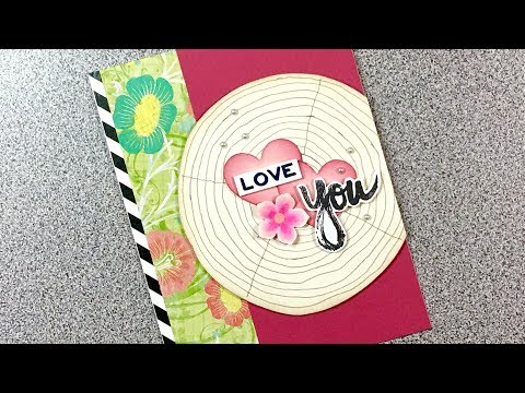 Paper Pumpkin May 2017 Alternate 5 Love Tree Ring Card