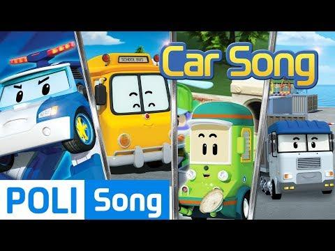 ♫ Compilation | Robocar Poli Car Song