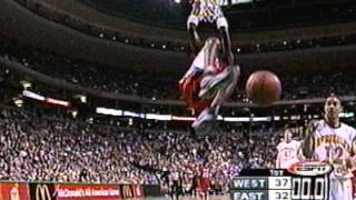 Darius Miles' Seven Rim-Rocking Dunks at the McDonald's All-American Game