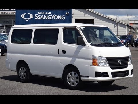 2009 Nissan Caravan DX Long Van 3000cc Diesel Turbo ...