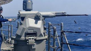 필리핀 해군 (PN) 4 개의 새로운 Mk. 38 모드…