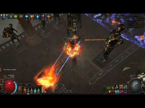 [Path Of Exile 3.8] Gachibass Hall Of Grandmasters - Sabouter Ethereal Knives (4ex Build)