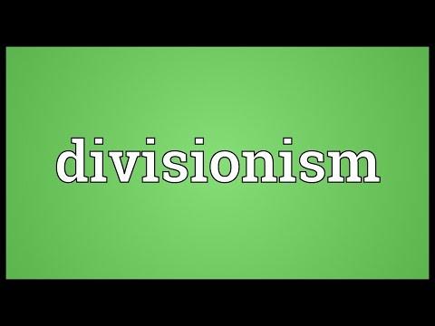 Header of Divisionism