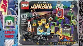 LEGO DC Super Heroes Обзор Джокерленд 76035 на русском - Бэтмен Лего Супер Герои. Warlord Лего(, 2015-09-24T10:30:30.000Z)