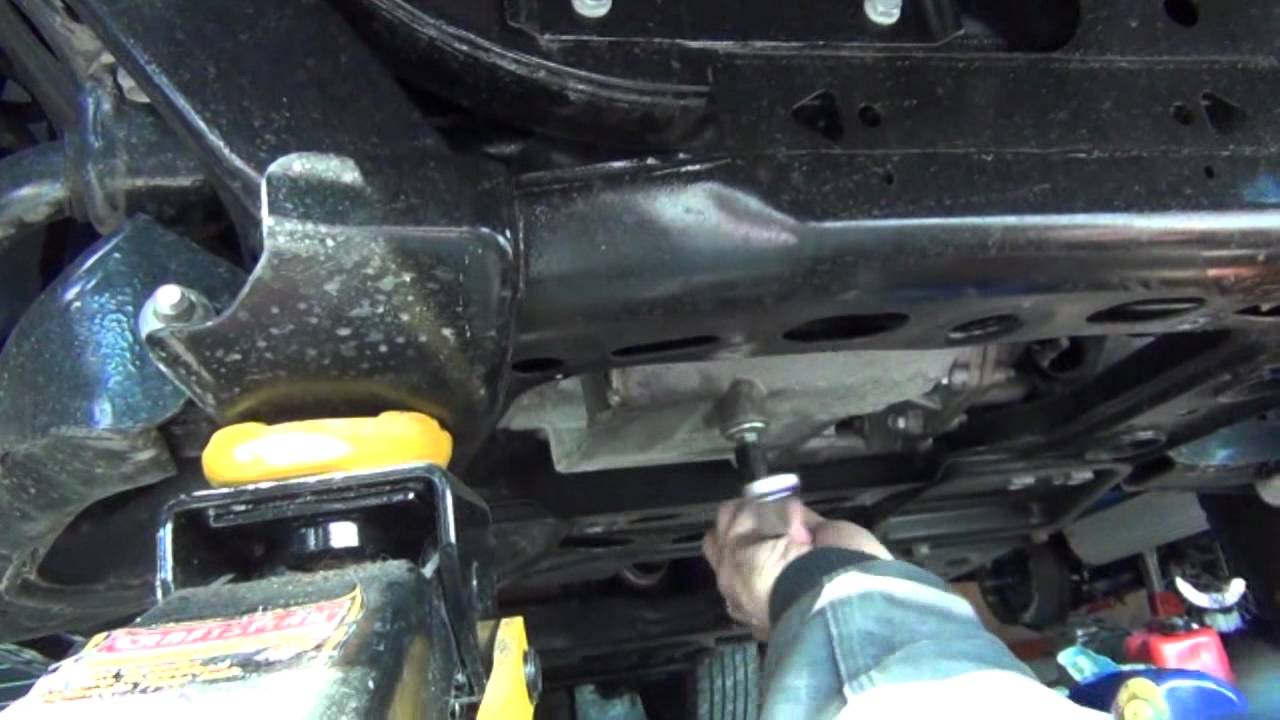 how to change the oil in a trailblazer  envoy  ranier 4 2l
