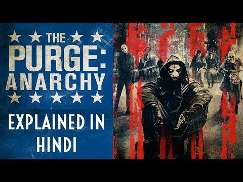 The Purge Anarchy (2014) | Explained In Hindi | HUH