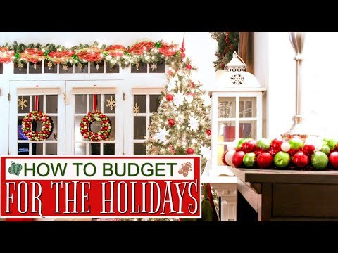 How to Save and Budget for the Holidays