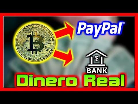 💰 Como Convertir Bitcoin En Dinero Real Para PayPal O Tu Banco 4 Opciones