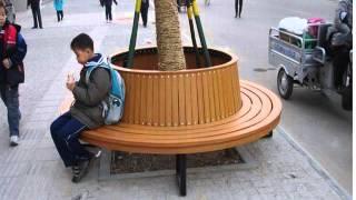 Planter bench wood plastic plans
