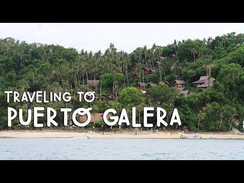 TRAVELING TO PUERTO GALERA, MINDORO (Philippines) | Vlog #163