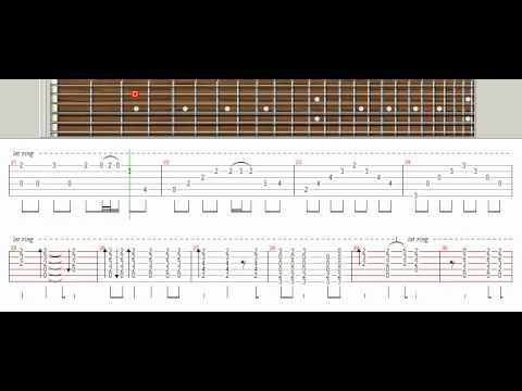 One Last Breath - Creed (Tutorial Guitar Pro) - YouTube