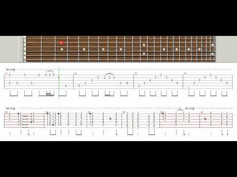One Last Breath Creed Tutorial Guitar Pro Youtube