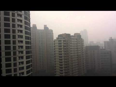 Shanghai Air Quality Index Hits Beyond Index! I can't breathe!!