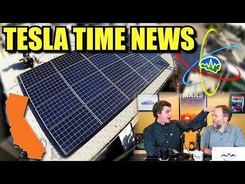Tesla Time News - California Goes Solar, Big Time!!