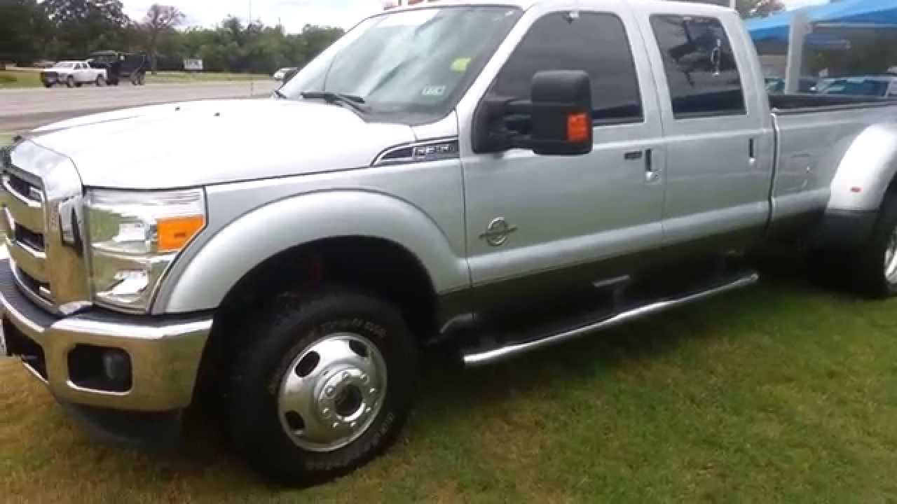 2013 F150 For Sale >> For Sale $45,995 Silver 2013 Ford F350 Lariat FX4 Power Stroke Diesel 4x4 w/ Air Lift - YouTube