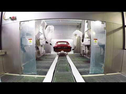 Volvo Charleston Car Factory Begins Mass Production