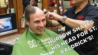 Quick Hits: Hurlow Goes Bald For St. Baldrick