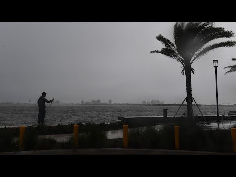 Live look from Miami as Hurricane Irma hurls toward Florida