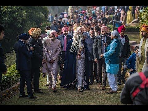 Grand Wedding Highlights Of Gurkarn & Shubhreet    4K
