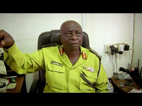 Louis Questions Law Enforcement In Lagos - Louis Theroux: Law And Disorder In Lagos - BBC