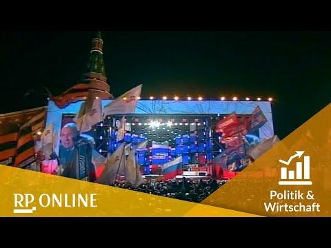 Putin gewinnt Präsidentschaftswahl