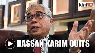 Hassan Karim quits as Johor PKR chief