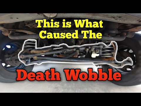 How to Fix Death Wobble Jeep / Ford / Ram