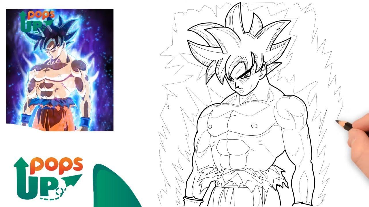 Hướng Dẫn Vẽ SONGOKU – Bảy Viên Ngọc Rồng – SONGOKU DRAGON BALLS Drawing | Como dibujar